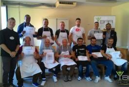 Ex detenuti Corso di Caffetteria Carcere Secondigliano